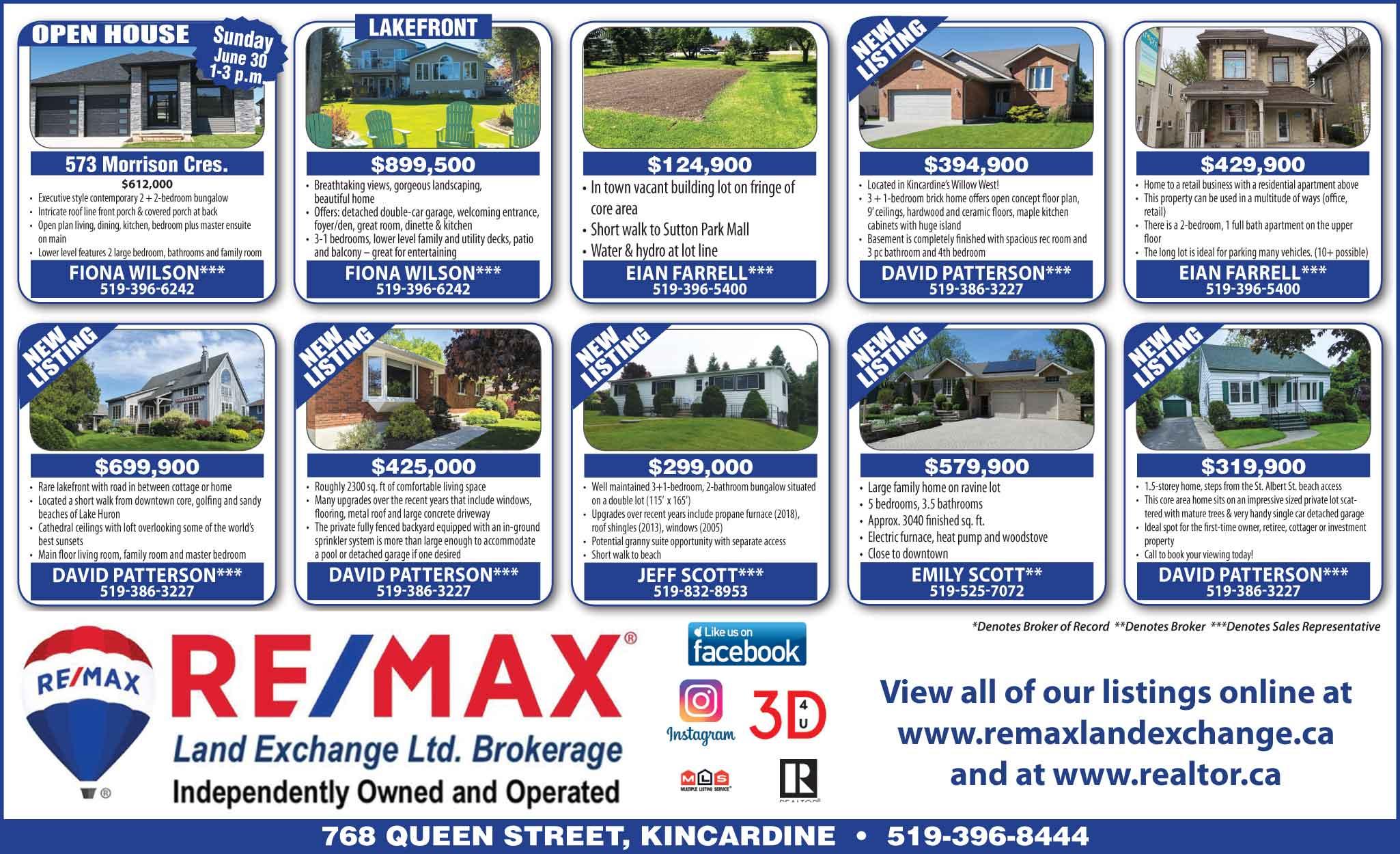 Real Estate June 26 2019 - Kincardine Independent